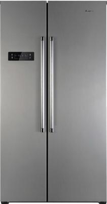 Холодильник Side by Side Candy CXSN 171 IXH серебристый 34002100 холодильник side by side samsung rs 57 k 4000 sa