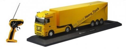 Купить Грузовик-тягач на радиоуправлении Пламенный Мотор Mercedes Benz Actros пластик от 3 лет желтый 87544, Пламенный мотор, Радиоуправляемые игрушки