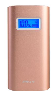 Внешний аккумулятор PNY PowerPack AD5200 Rose Gold