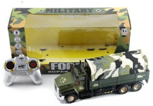 Грузовик на радиоуправлении Shantou Gepai ВForce Super Truck от 6 лет камуфляж 810-1 1toy грузовик тягач на радиоуправлении heavy truck
