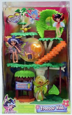 Игровой набор FairyKins Фея Вольтесса и Домик-дерево 4 предмета  84210