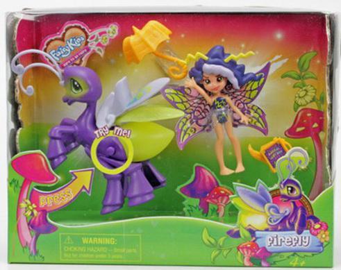 Игровой набор FairyKins Фея Вольтесса и Светящийся Мотылек 3 предмета