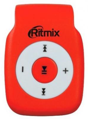 Плеер Ritmix RF-1015 красный ritmix rf 4150 4gb black mp3 плеер
