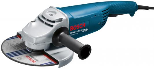 Углошлифовальная машина Bosch GWS 24 - 230 JH 230 мм 2400 Вт углошлифовальная машина bosch gws 22 230 jh 230 мм 2200 вт