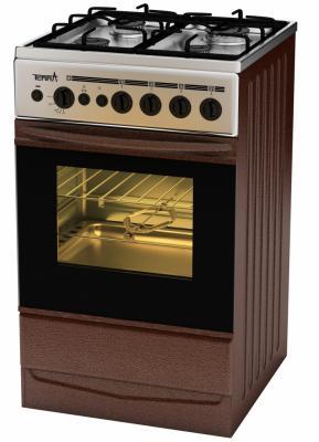 Газовая плита TERRA SH 14.120-04 Br коричневый газовая плита terra sh 14 120 04 br коричневый