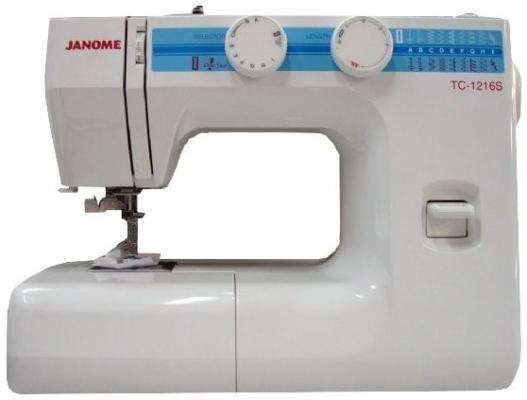 Швейная машина Janome TC 1216 S  белый швейная машина janome tc 1222s белый [tc 1222s]
