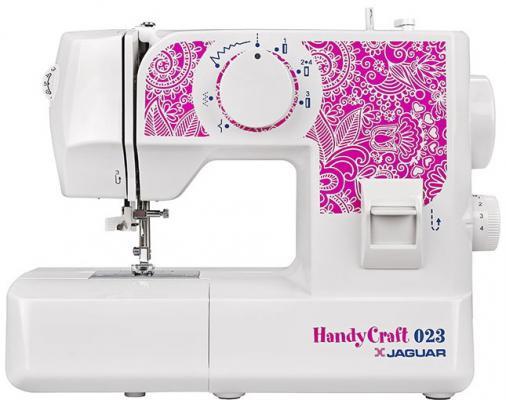 Швейная машина Jaguar HandyCraft 023 белый