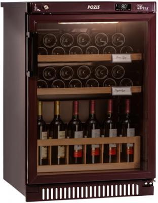 Винный шкаф Pozis ШВ-39 коричневый