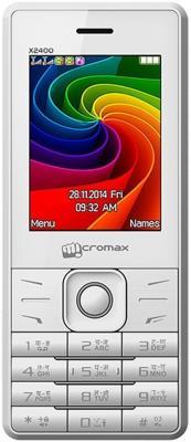 """Мобильный телефон Micromax X2400 белый 2.4"""""""
