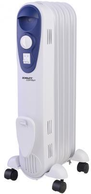Масляный радиатор Scarlett SC 21.1005 S 1000 Вт белый