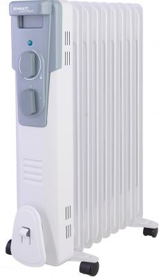 Масляный радиатор Scarlett SC 41.2009 2000 Вт термостат белый