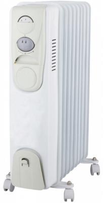 Масляный радиатор Oasis BS-10 1000 Вт ручка для переноски белый цена и фото