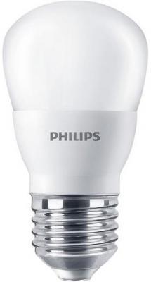 Лампа светодиодная груша Philips LEDBulb E27 4W 3000K