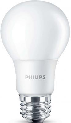 Лампа светодиодная груша Philips LEDBulb E27 6W 3000K