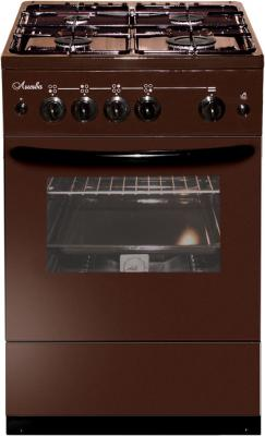 Газовая плита Лысьва ГП 400 М2С-2у коричневый газовая плита лысьва гп 400 м2с 2у газовая духовка белый