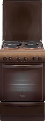 Электрическая плита Gefest 5140-00 0001 коричневый газовая плита gefest пгэ 6102 02 0001 электрическая духовка коричневый