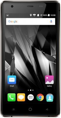 "Смартфон Micromax Q462 Canvas 5 lite коричневый 5"" 16 Гб LTE Wi-Fi GPS 3G"