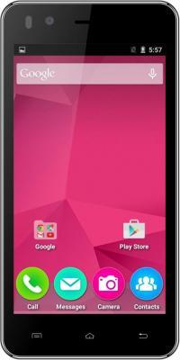 """Смартфон Micromax Q424 черный 4.5"""" 8 Гб Wi-Fi GPS 3G"""