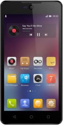 """Смартфон Micromax Q340 черный 5"""" 8 Гб Wi-Fi GPS 3G"""