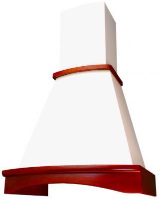 Вытяжка каминная Elikor Ротонда 60П-650-П3Л бежевый /бук вишня