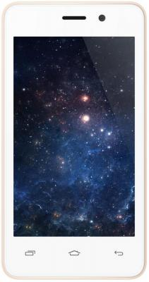 Смартфон Micromax Q326 бежевый 4 4 Гб Wi-Fi GPS 3G смартфон micromax a107 cosmic grey 4 5 8 гб wi fi gps 3g 4 5 2sim 8гб gps wi fi 3g android 5 0 2000 ма ч