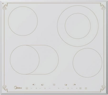 Варочная панель электрическая Midea MC-HF661 RW белый электроплитка midea mc in2102