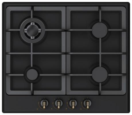 Варочная панель газовая Midea Q452SFD-BL черный