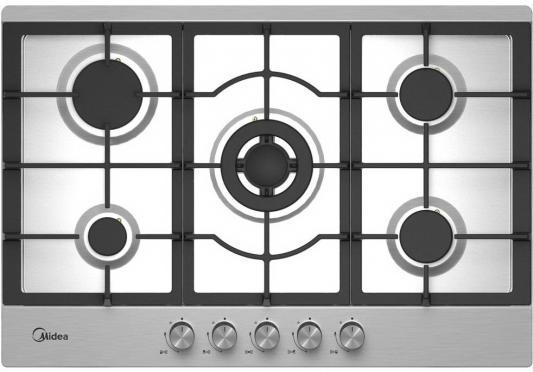Варочная панель газовая Midea Q751SFD SS серебристый midea q452 sfd iv варочная панель газовая