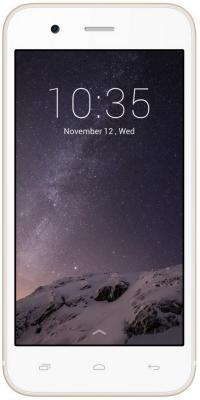 "Смартфон Micromax Q346 бежевый 4.5"" 8 Гб Wi-Fi GPS 3G"
