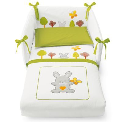 Комплект постельного белья 3 предмета Pali Smart Bosco (зеленый)