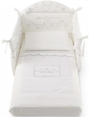 Комплект постельного белья 3 предмета Pali Marilyn Prestige (белый)