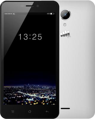 "Смартфон Micromax Q479 белый 5.5"" 16 Гб LTE Wi-Fi GPS"