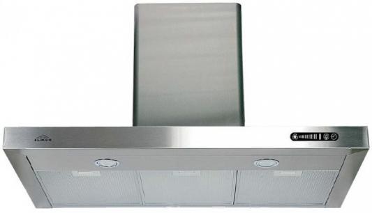 Вытяжка каминная Elikor Опал 90Н-650-Э3Г серебристый