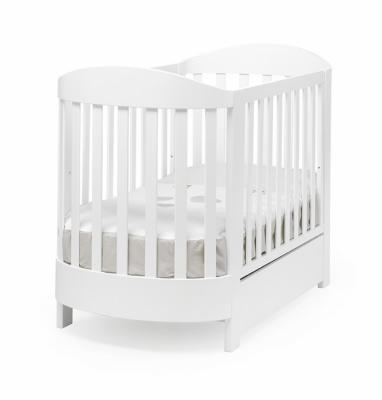 Купить Кроватка Pali Ariel (белый), бук, Кроватки без укачивания