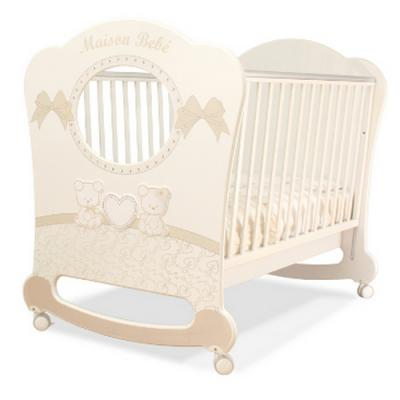 Кроватка Pali Smart Maison Bebe Oblo (белый/магнолия)