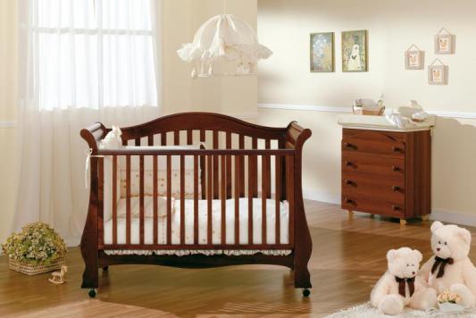 Кроватка-диван Pali Renee (темный орех)