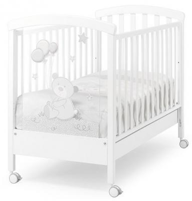 Кроватка -качалка Erbesi Toby (белый) кроватка качалка erbesi amour орех