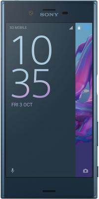 "Смартфон SONY Xperia XZ Dual ночное небо 5.2"" 64 Гб NFC LTE Wi-Fi GPS 3G F8332"