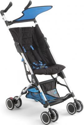 Прогулочная коляска Pali Fly (черный/голубой)