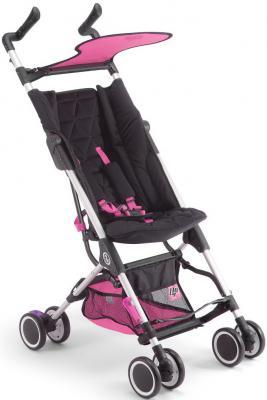 Прогулочная коляска Pali Fly (черный/розовый)