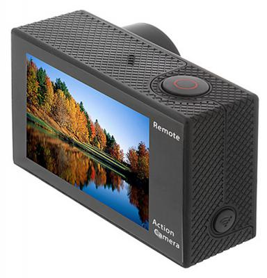 "Экшн-камера EGO JUMP 4K 2"" LCD Wi-Fi wireless remote control 30 m waterproof EGCAM-J1"
