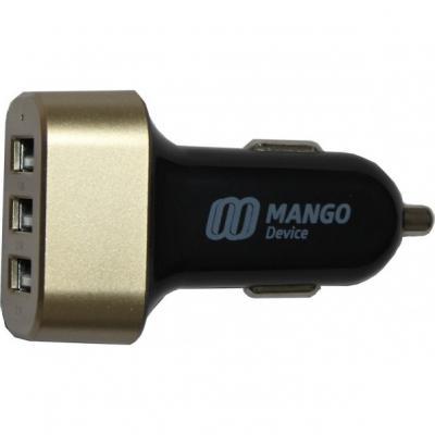 Автомобильное зарядное устройство Mango Device 5.1A 3xUSB черный XBX-017