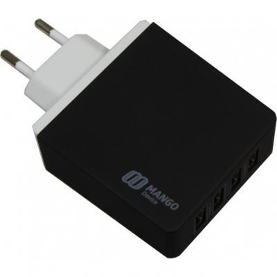 Зарядное устройство Mango Device XBX-07EB 4 x USB 5.2 А черный