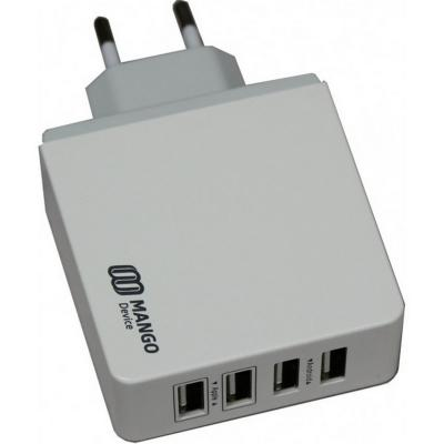 Сетевое зарядное устройство Mango Device XBX-07EW 4 x USB 5.2 А белый