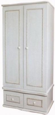 Шкаф двухстворчатый Красная Звезда С547 (белый)