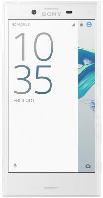 Смартфон SONY Xperia X Compact белый 4.6 32 Гб NFC Wi-Fi GPS 3G LTE F5321 смартфон sony xperia x compact white android 6 0 marshmallow msm8956 1800mhz 4 6 1280x720 3072mb 32gb 4g lte [f5321white]