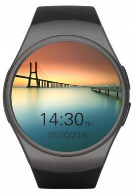 Смарт-часы Kingwear KW18 черный