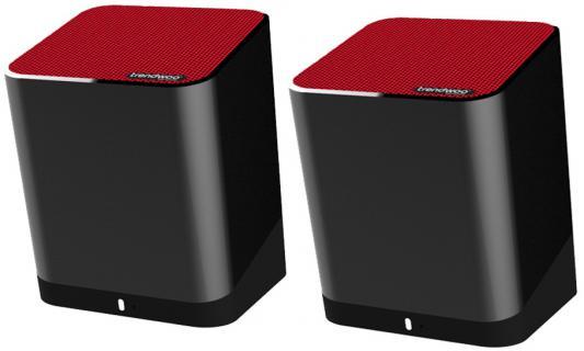 Портативная акустика Trendwoo Music Twins bluetooth красный черный