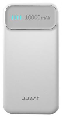 Внешний аккумулятор Joway JP62 10000 mAh белый серый