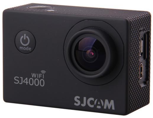 """Экшн-камера SJCAM SJ4000 2.0"""" WIFI черный"""